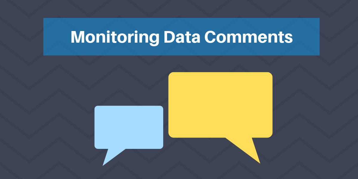 Monitoring Data Connected Comments In Excel Blog Header