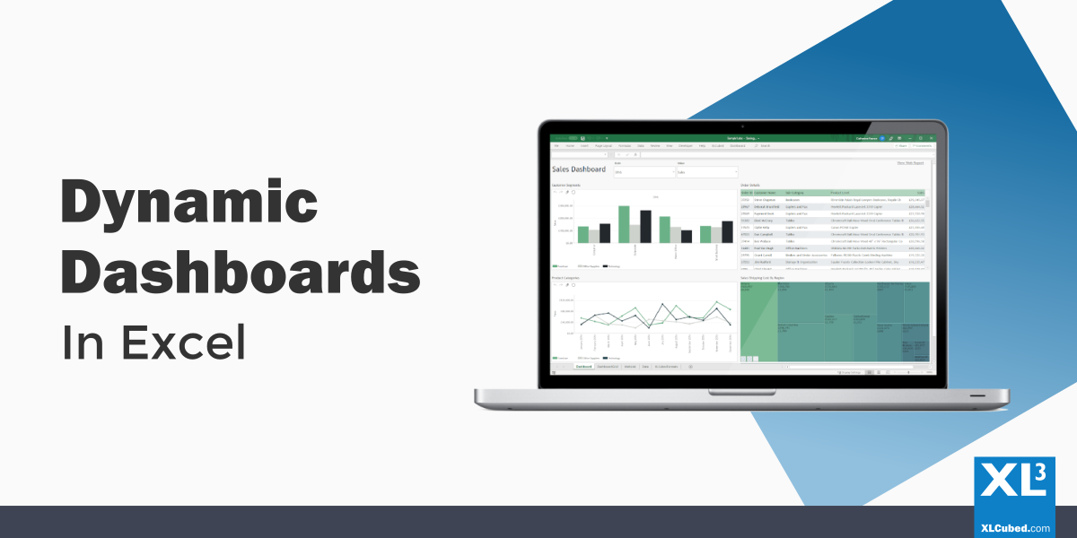 Dynamic Dashboards In Excel XLCubed Blog Header